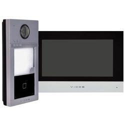 Zestaw natynkowy wideodomofonu ip czytnik rfid monitor 7'' marki Vidos