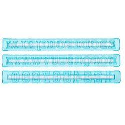 Szablony liter i cyfr do dekoracji marki Tala