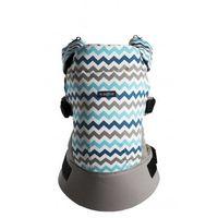 Zaffiro  nosidło care blue zigzag n22