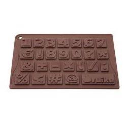 Forma silikonowa Pavoni 123 czekoladowe pralinki, cyferki