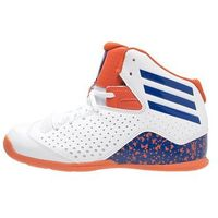 adidas Performance NEXT LEVEL SPEED IV NBA Obuwie do koszykówki white/blue/orange
