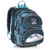 Plecak szkolny Topgal CHI 865 D - Blue, kolor niebieski