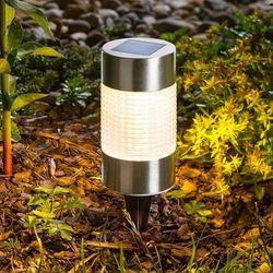 Szykowna lampa solarna LED Puc Light