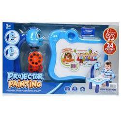 Projektor plastikowy z akcesoriami niebieski z kategorii maskotki interaktywne
