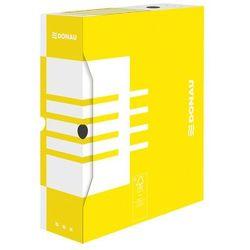 Pudełko archiwizacyjne 100mm Donau żółte, BP7356