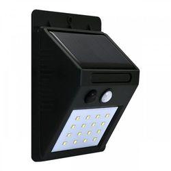 Lampa solarna POLUX BOX mini SRQ60531 z czujnikiem zmierzchowo-ruchowym (5901508307644)