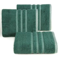 Ręcznik alan 70x140 ciemny zielony marki Eurofirany