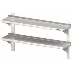 Półka wisząca przestawna podwójna 1200x300x660 mm   STALGAST, 981773120