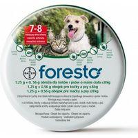 Bayer Foresto Obroża dla psów i kotów o masie ciała poniżej 8kg długość 38 cm. - produkt z kategorii-