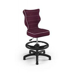 Krzesło dziecięce na wzrost 133-159cm petit black vs07 rozmiar 4 wk+p marki Entelo