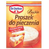 Dr. Oetker Backin Proszek do Pieczenia 30 g (5900437010373)