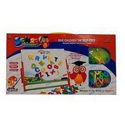 Pro kids Tablica magnetyczna z literkami + marker