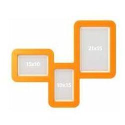 Ramka Tri Frame Plus pomarańczowa