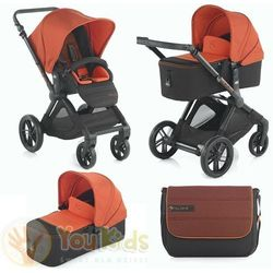 Od YouKids Jane Muum Reverse 3w1 gondola Micro + fotelik Koos - s51 orange