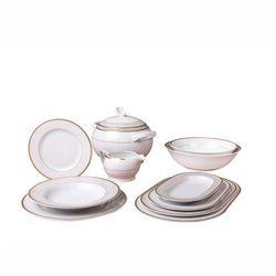 Zakłady porcelany karolina Serwis obiadowy 12 osób 44 el. roma/ambasador 4725 -karolina