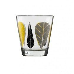 Szklanka 270ml -  liście żółte (2szt.) marki Muurla