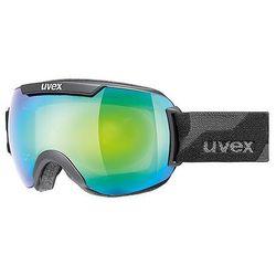 Uvex Gogle narciarskie  downhill 2000 fm czarne/zielone, kategoria: kaski i gogle