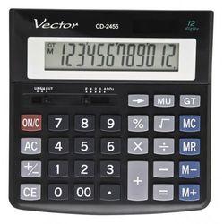Kalkulator 12 pozycyjny CD-2455 - Super Ceny - Rabaty - Autoryzowana dystrybucja - Szybka dostawa - Hurt, KLKVEC-2455