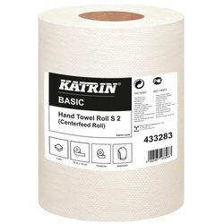 Ręcznik papierowy w roli Katrin Classic Hand Towel Roll S2 70 m 12 szt. 2 warstwy biały makulatura