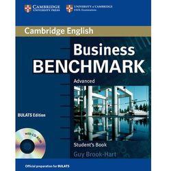 Business Benchmark Advanced BULATS Edition Książka Ucznia Plus CD-ROM (kategoria: Nauka języka)