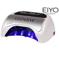 Neonail Najmocniejsza na rynku lampa led uv - do hybryd i żeli – biała - 48 w