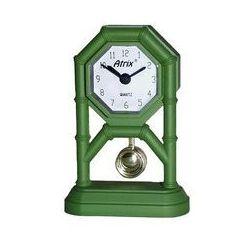 Mini zegar z wahadłem zielony #ak42 marki Atrix