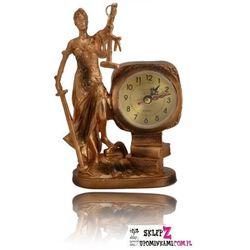 Zegar Zegarek stojący figurka Temida ładny prezent