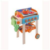 SEVI Drewniany grill z akcesoriami - produkt z kategorii- Pozostałe zabawki AGD