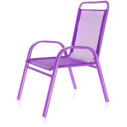 krzesełko ogrodowe dziecięce fioletowy 50xt2930a, marki Happy green