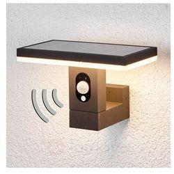 Prosta solarna lampa ścienna z czujnikiem ruchu (4251096511611)