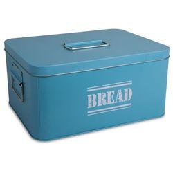 Metalowy chlebak Bread blue