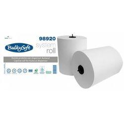 Ręcznik papierowy w roli Bulkysoft Autocut 2 warstwy 150 m biały celuloza