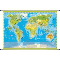 Zwierzęta Świata mapa ścienna dla dzieci ArtGlob - produkt z kategorii- mapy