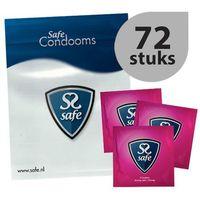 Safe Prezerwatywy wzmocnione -  strong condoms 72 szt