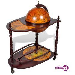vidaXL Globobar ze stolikiem, drewniany (8718475859574)