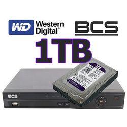 Rejestrator cyfrowy hybrydowy CVI Analogowy IP Sieciowy BCS-CVR0801-III + dysk 1TB z kategorii Rejestratory przemysłowe