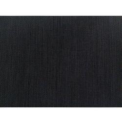Meble ogrodowe czarne - krzesło ogrodowe - balkonowe - tarasowe - grosseto marki Beliani