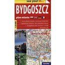 Bydgoszcz see you! in papierowy plan miasta 1:20 000, oprawa miękka