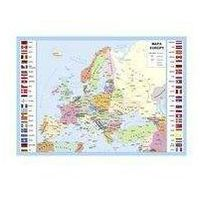 Podkładka na biurko Europa mapa administracyjna