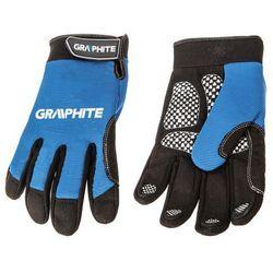 Graphite Rękawice robocze czarno-niebieski (rozmiar 10) (5902062092700)