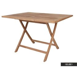 Selsey stół ogrodowy gerrin 120x80 cm