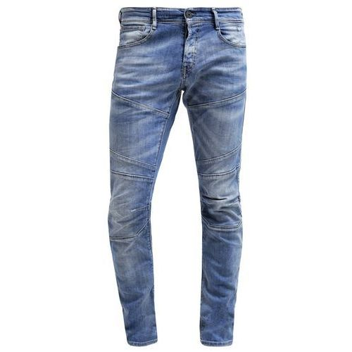 Jack & Jones JJIGLENN JJJAX Jeansy Slim fit blue denim z kategorii spodnie męskie