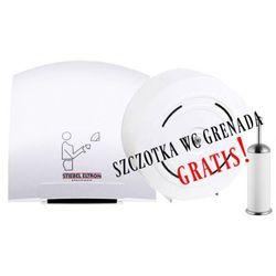 Zestaw Suszarka HT4 1800W + pojemnik JUMBO na 4 rolki papieru toaletowego. SZCZOTKA WC GRENADA GRATIS!