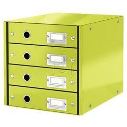 Pojemnik Leitz Click&Store z 4 szufladami zielony 60490064 (4002432104000)
