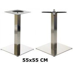 Od-podstawy Podstawa stolika 55x55, stal nierdzewna polerowana lub szczotkowana ( stelaż stolika) - e78/55/p/