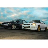Pojedynek Tytanów – Subaru Impreza vs Mitsubishi Lancer – Tor kartingowy Kamień Śląski