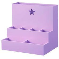 KIDS CONCEPT Organizator na biurko Star kolor różowy/fioletowy (7340028715139)