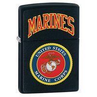 Zapalniczka ZIPPO U.S. Marines, Black Matte (z218539) z kategorii Zapalniczki
