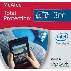 McAfee Total Protection 2017 KEY - 3 PC - produkt z kategorii- Programy antywirusowe, zabezpieczenia