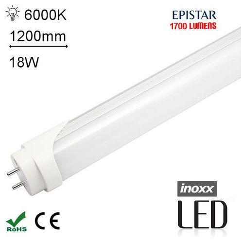 INOXX T8-120-B1-18W-760 Świetlówka LED zimna 1200mm o mocy 18W 1700 lumenów 6400K (świetlówka)